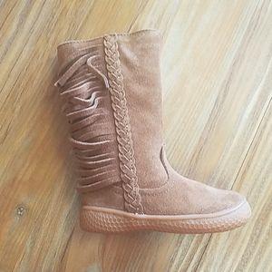 Camel Fringe Sonoma Boots